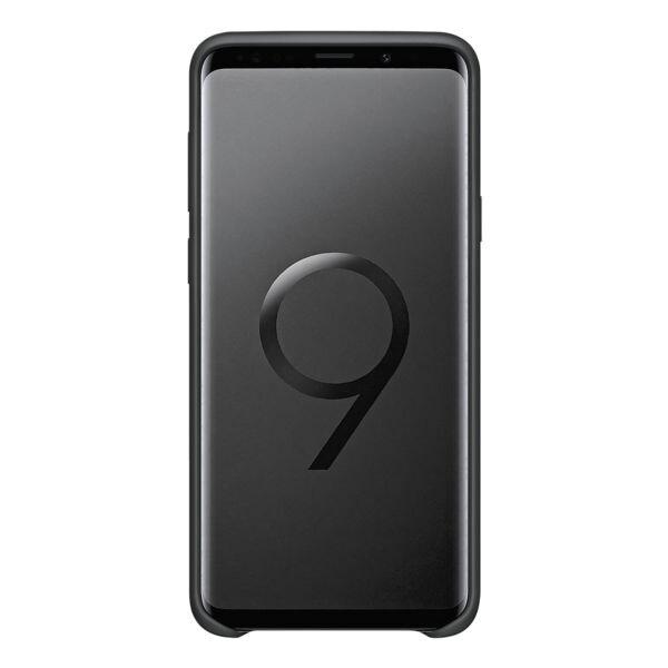 Samsung Silicone Cover für Galaxy S9+ »Black«