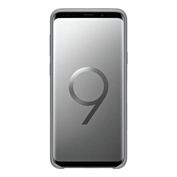 Samsung Silicone Cover für Galaxy S9+ »Gray«
