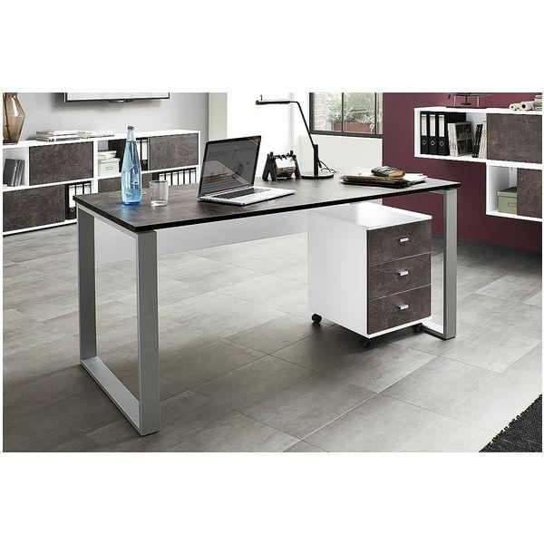 germania werke m bel set altino 2 teilig schreibtisch mit rollcontainer bei otto office. Black Bedroom Furniture Sets. Home Design Ideas