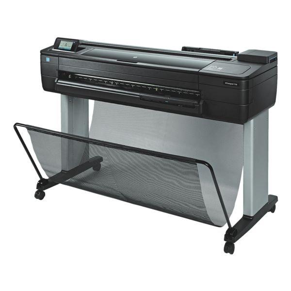 HP DesignJet T730 Tintenstrahldrucker, Sonderformat Farb-Tintenstrahldrucker, 2400 x 1200 dpi, mit LAN und WLAN