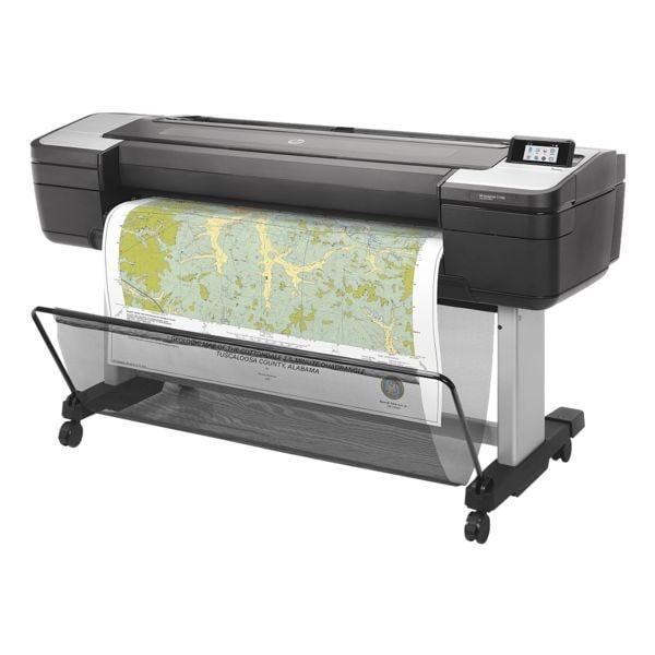 HP DesignJet T1700 Tintenstrahldrucker, Sonderformat Farb-Tintenstrahldrucker, 2400 x 1200 dpi, mit LAN
