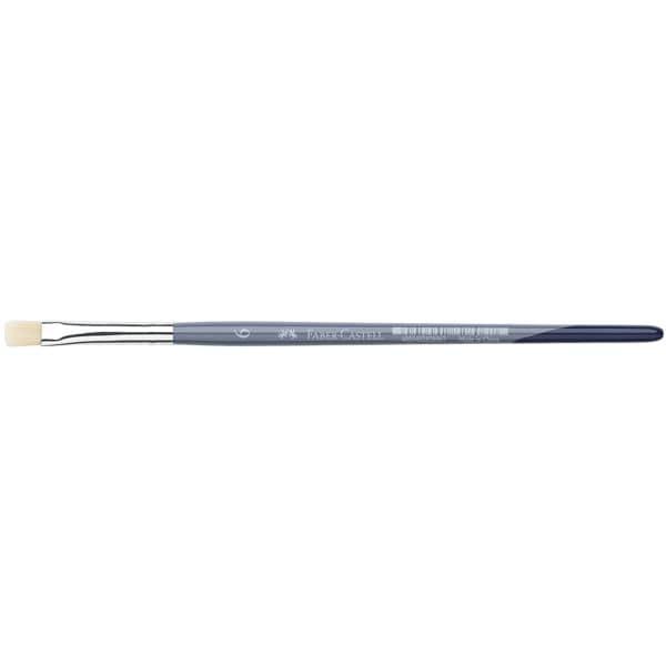 Faber-Castell 5er-Pack Flachpinsel Größe 6