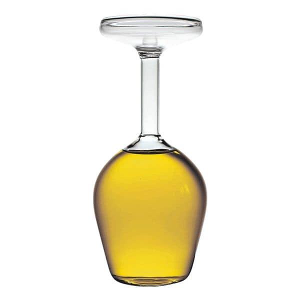 Das umgekehrte Weinglas