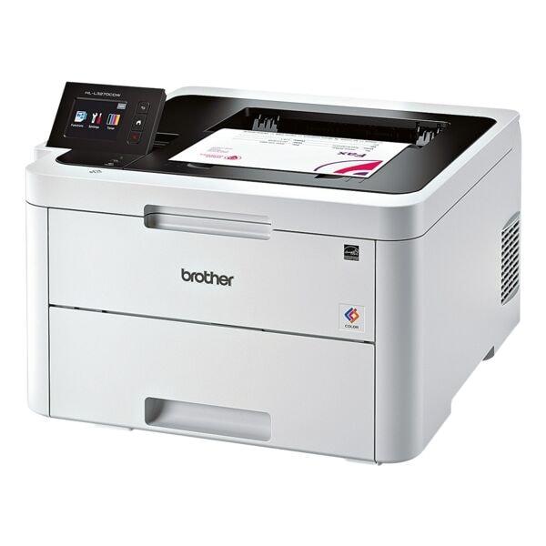 Brother HL-L3270CDW Laserdrucker, A4 Farb-Laserdrucker, 2400 x 600 dpi, mit LAN und WLAN