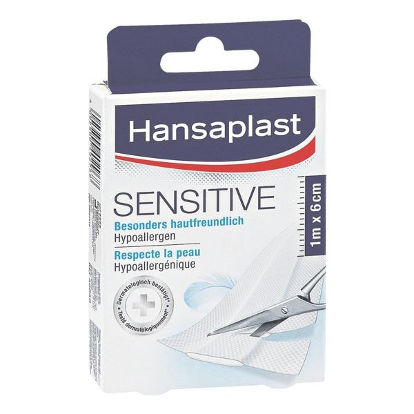 Hansaplast Pflaster »Sensitive« 1 m x 6 cm