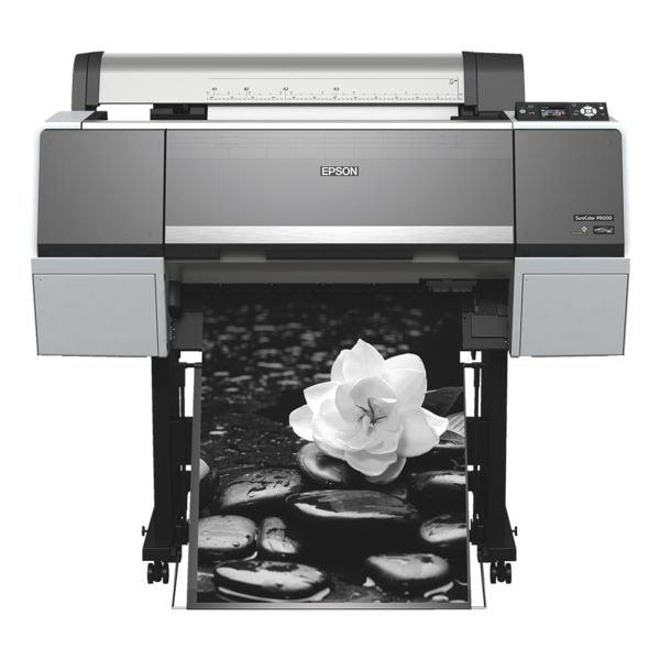 Epson SureColor SC-P6000 STD Großformatdrucker, A1 Farb-Tintenstrahldrucker, 2880 x 1440 dpi, mit LAN