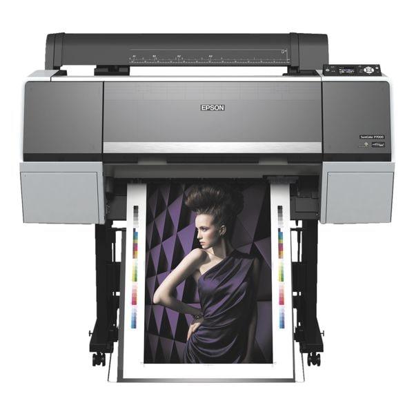 Epson SureColor SC-P7000 STD Großformatdrucker, A1 Farb-Tintenstrahldrucker, 2880 x 1440 dpi, mit LAN