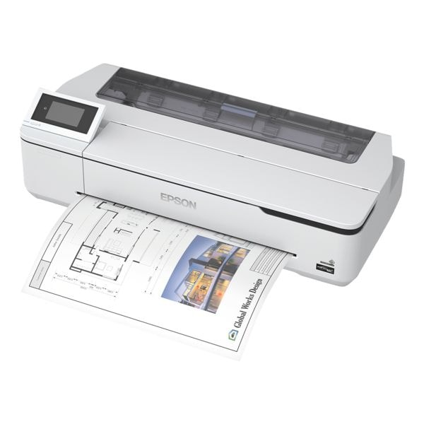 Epson SureColor SC-T3100N Tintenstrahldrucker, A1, 2400 x 1200 dpi, mit LAN und WLAN