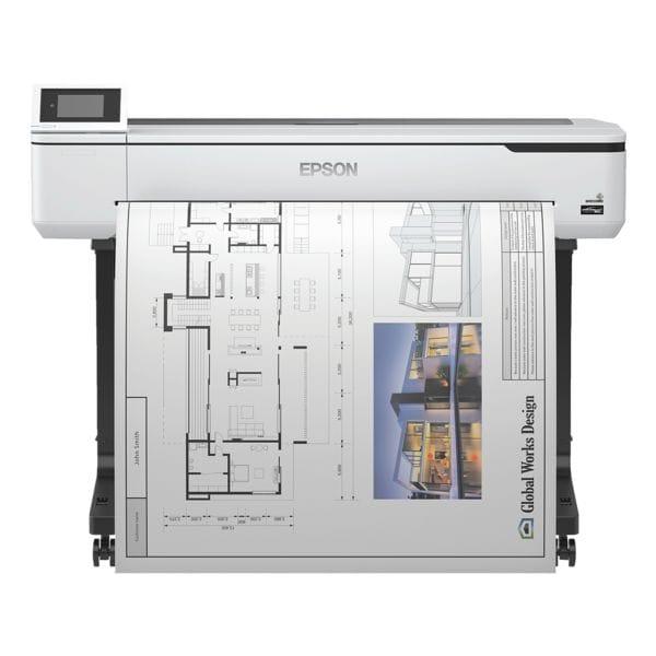 Epson SureColor SC-T5100 Tintenstrahldrucker, A0, 2400 x 1200 dpi, mit LAN und WLAN