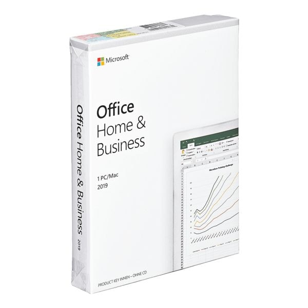 Microsoft Software Product Key Card »Office Home & Business 2019«