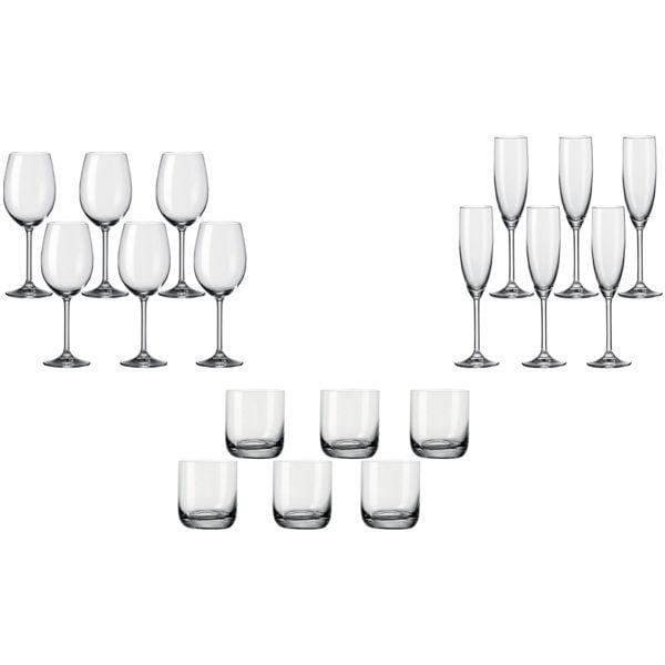 Leonardo 18-teiliges Gläser-Set »Sereno«