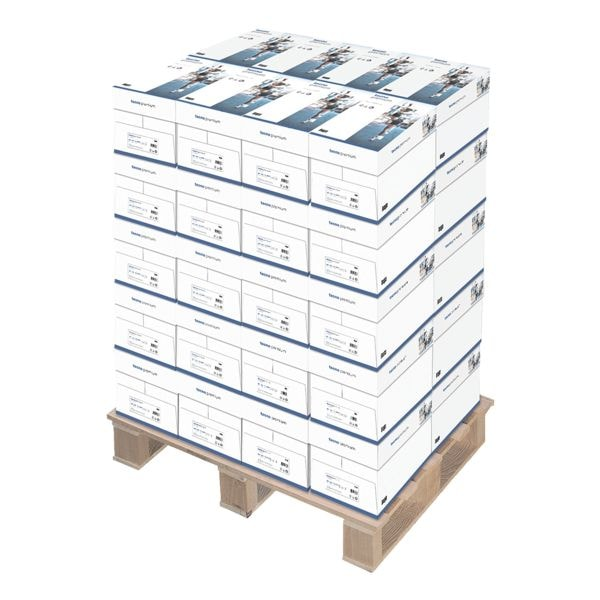 40x Multifunktionales Druckerpapier A4 Inapa tecno Premium - 100000 Blatt gesamt