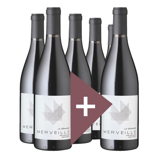 Rindchen's Weinkontor 6er-Pack Rotwein »2019 Côtes Catalanes La Grande Merveille, Cellier d'Eole«