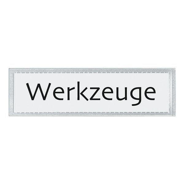 Veloflex Beschriftungsfenster »VELOCOLL®« 21 x 82 mm