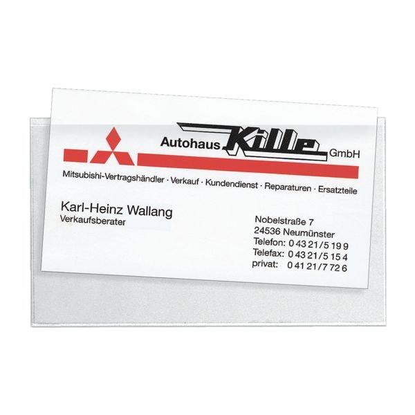 Veloflex Visitenkartentasche »VELOCOLL®« 112 x 62 mm