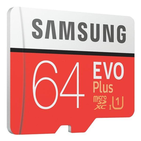 Samsung microSDXC-Speicherkarte »Evo Plus« 64 GB