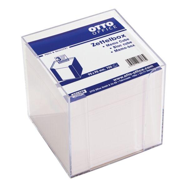 OTTO Office Zettelbox mit weißem Papier