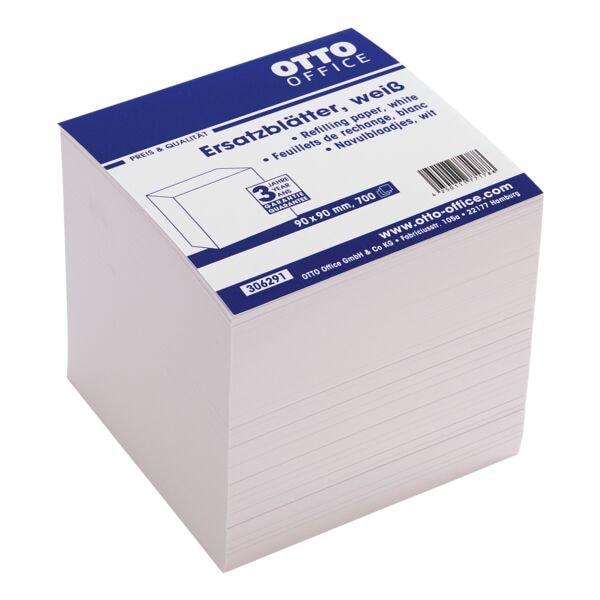 OTTO Office Ersatzblätter für Zettelbox weiß