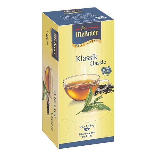 Meßmer Schwarzer Tee »Klassik« Tassenportion, Papierkuvert, 25er-Pack