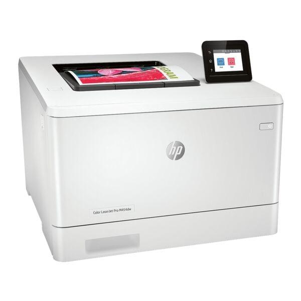 HP Laserdrucker Color LaserJet Pro M454dw, A4 Farb-Laserdrucker, 600 x 600 dpi, mit LAN und WLAN