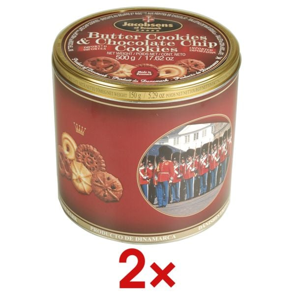 2x Dänische Buttercookies