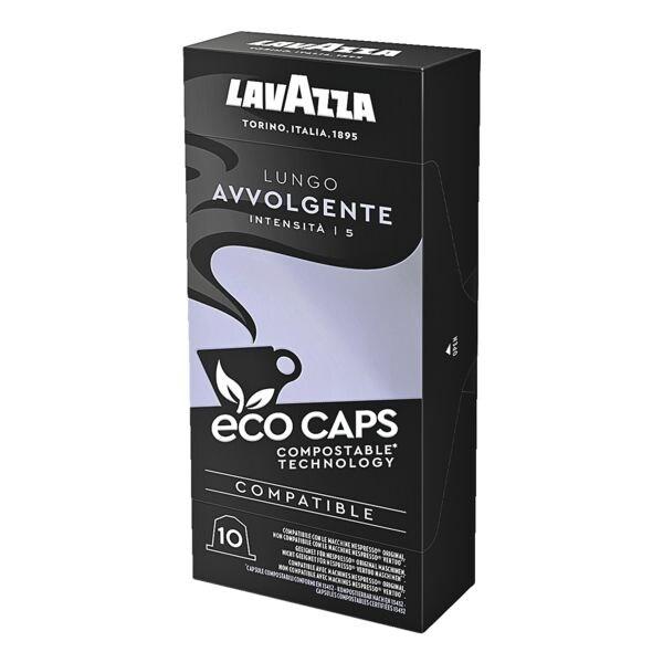Lavazza Kaffeekapseln »Lungo Avvolgente« eco caps für Nespresso®
