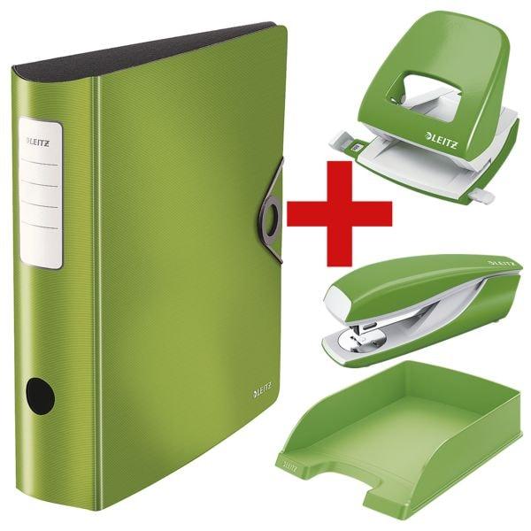 LEITZ Ordner A4 »180° Solid« breit, einfarbig