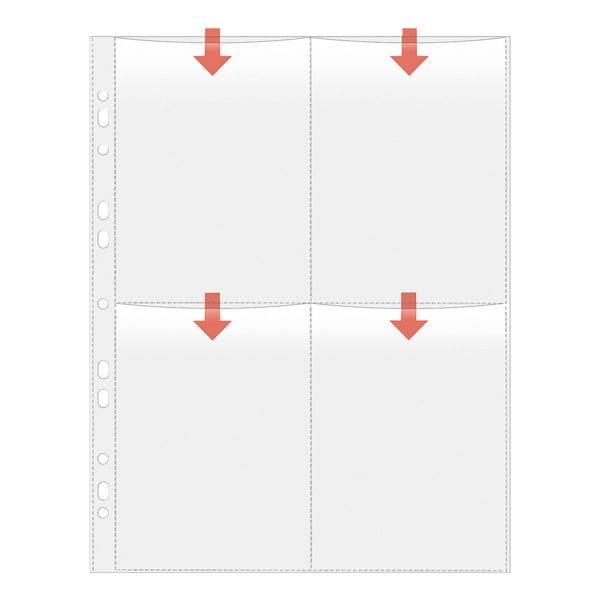Veloflex Fotosichthüllen 10x15 cm, 5347310