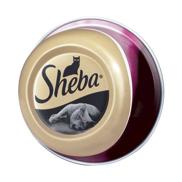 Sheba Ergänzungsfutter »Feine Filets« mit Meeresfrüchten (1x 80 g)