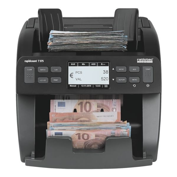 ratiotec Banknotenzählmaschine »Rapidcount T 575«