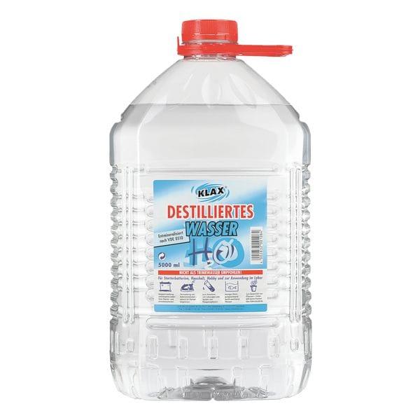 3er-Pack Destilliertes Wasser, 5 Liter