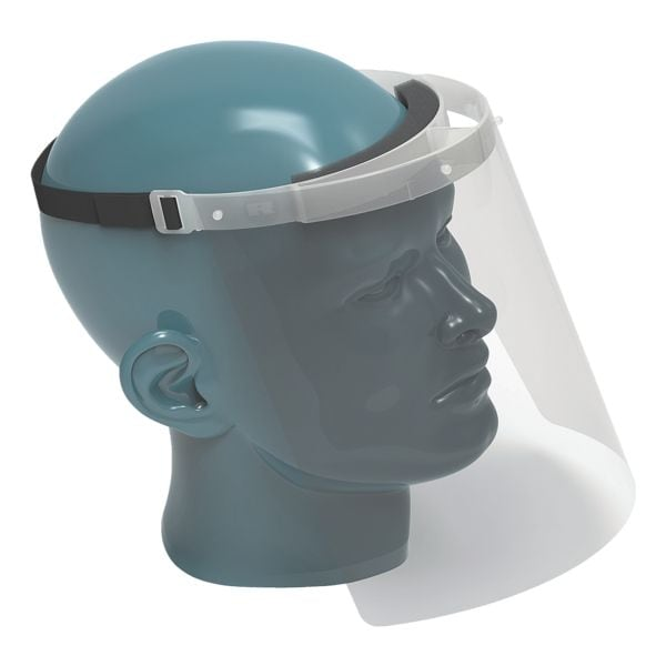 RENZ Nies- und Spuckschutz Gesichtsschutzvisier