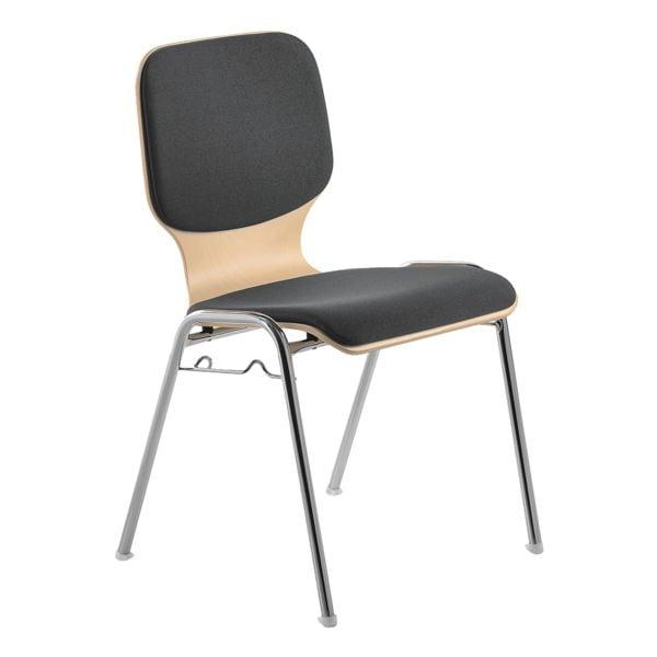 mayer Sitzmöbel Stapelstuhl »my Dario« mit Sitz- und Rückenpolster