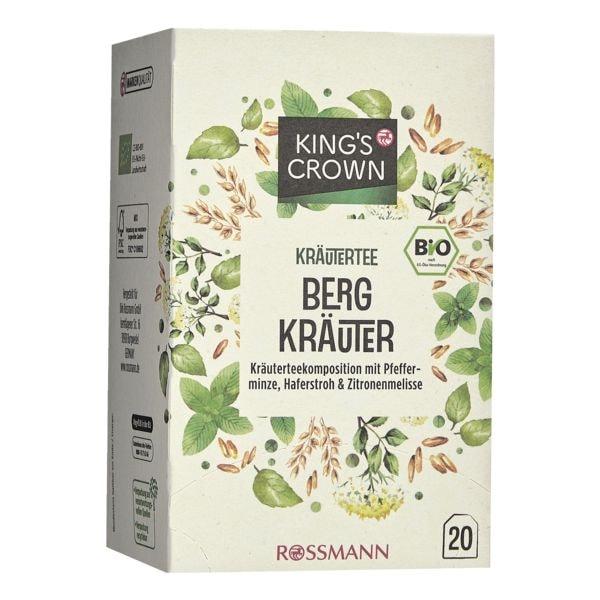 Kings Crown Bio Kräutertee »Bergkräuter« Tassenportion, 20er-Pack