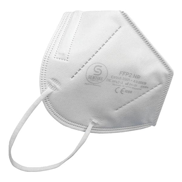 Sentias 10 Faltmasken FFP2 nach EN 149 Made in Germany