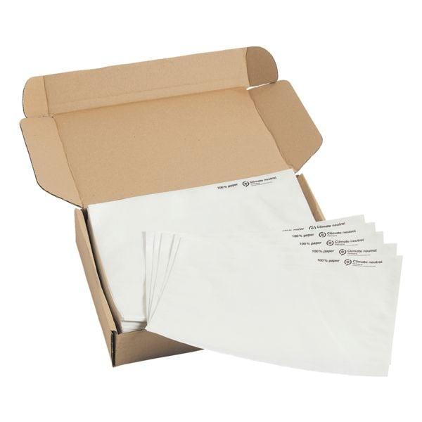 Mailmedia 250er-Pack Dokumenten- und Lieferscheintaschen, C5