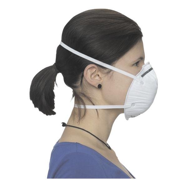 BBE Solutions 20er-Pack FFP2 Maske schalenförmig »K-Serie K9210« ohne Ventil