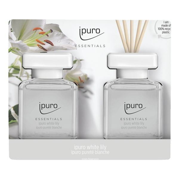 ipuro Raumduft »White Lily« 2x 50 ml