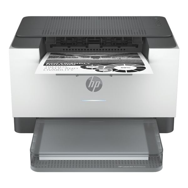 HP Laserdrucker LaserJet M209dwe, A4 schwarz weiß Laserdrucker, 600 x 600 dpi, mit WLAN und LAN