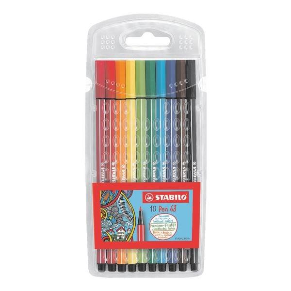 Stabilo 10er-Pack Faserschreiber »Pen 68«