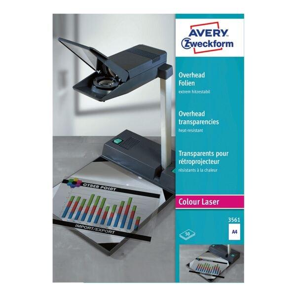 Avery Zweckform Overhead-Color-Laserfolien »transparent«