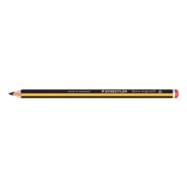 Bleistift STAEDTLER Noris ergo soft Jumbo 153, 2B, ohne Radiergummi