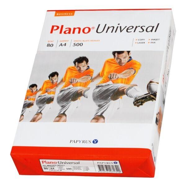 Kopierpapier A4 Plano Universal - 500 Blatt gesamt, 80g/qm