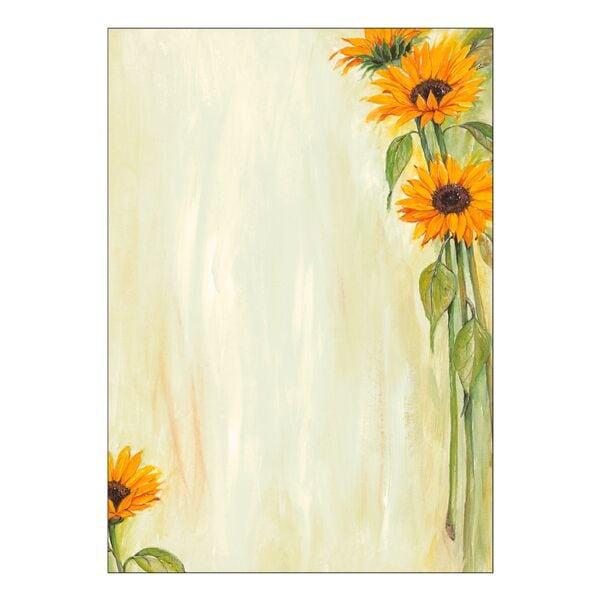 Sigel Motivpapier »Sonnenblumen« DP694