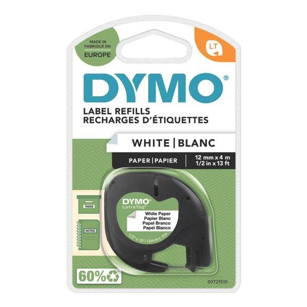 Dymo LetraTAG-Beschriftungsband »91220« 12 mm x 4 m