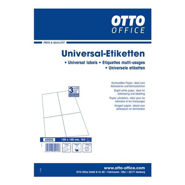 OTTO Office 400er-Pack Universal Klebeetiketten