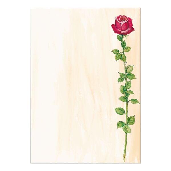Sigel Motivpapier »Rose« DP695