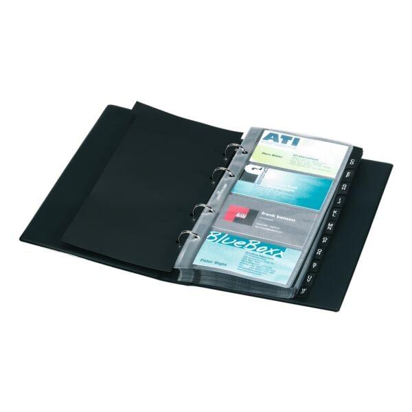 Durable Visitenkartenmappe mit Ringmechanik »Visifix«