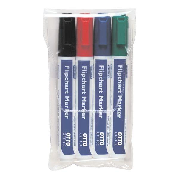 OTTO Office 4er-Pack Flipchart Marker