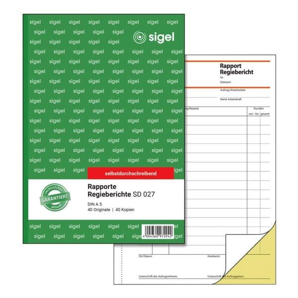 Regiebericht Elektrotechnik Elektriker Handwerkerdrucksachen 9
